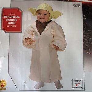 NWT Star Wars Yoda Costume
